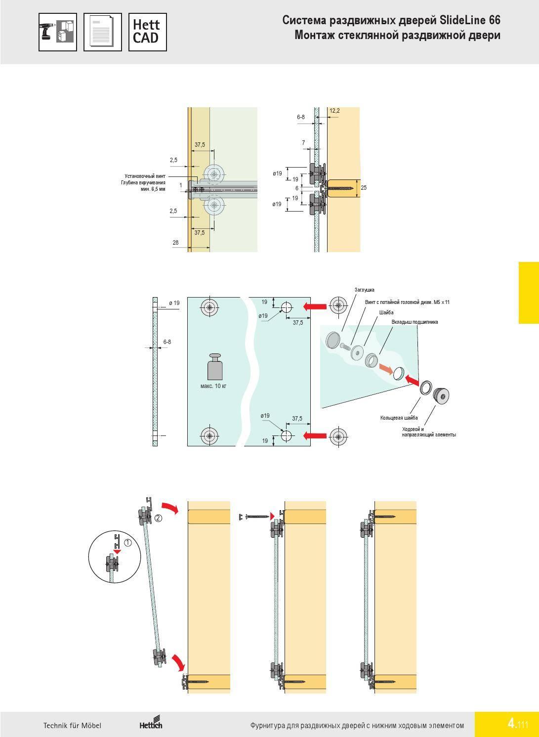 Как сделать раздвижные двери своими руками: инструкция, видео