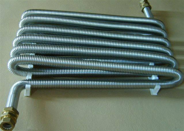 Применение гофрированной трубы из нержавейки для системы отопления