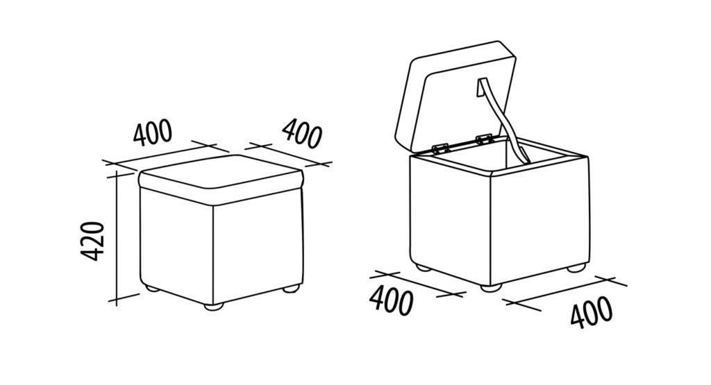 Как сделать пуфик своими руками: секреты создания недорогих и удобных моделей