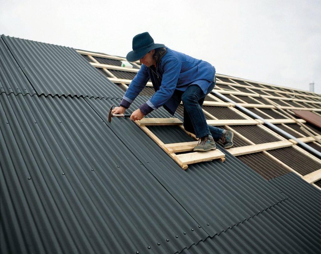 Как покрыть крышу профлистом своими руками: все этапы работ для самостоятельного выполнения
