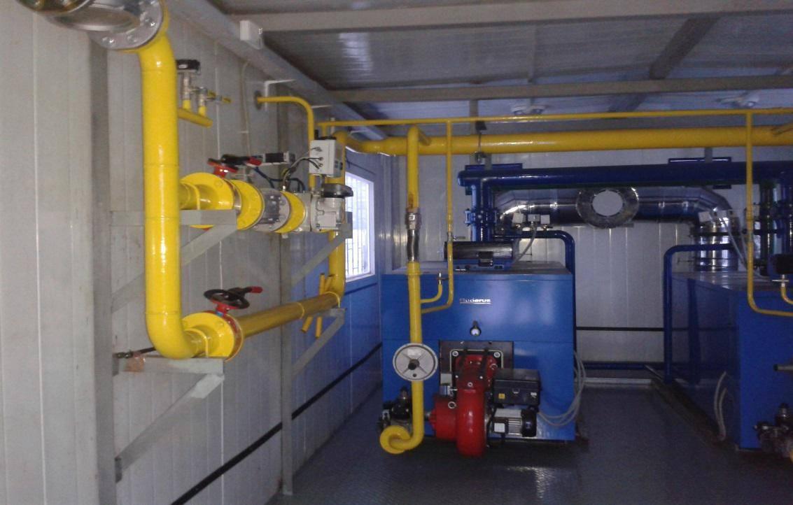Блочно-модульные котельные: производство и использование газовых бмк