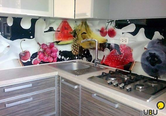 Кухонные фартуки из мдф с фотопечатью