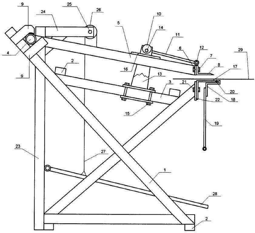 Листогиб своими руками: конструкции, чертежи, описания