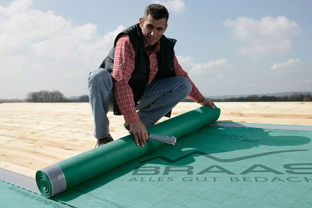 Пленка для гидроизоляции крыши дома
