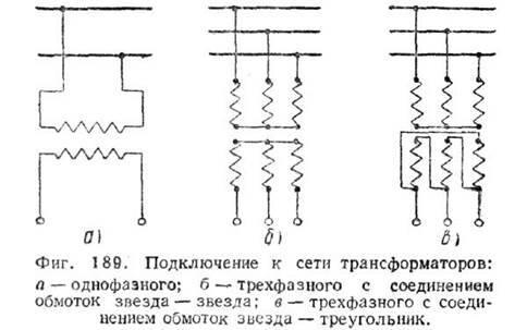 Однофазный трансформатор - устройство и принцип действия