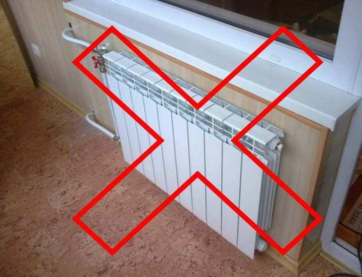 Правильная установка радиатора отопления под окном: низкие батареи, конвекторы