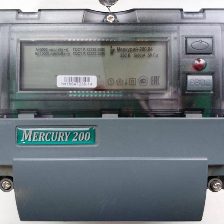 Устройство электронных электросчетчиков меркурий