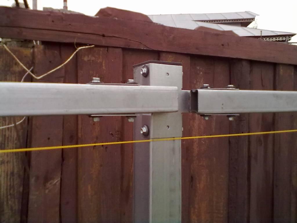 Что такое: забор из профлиста своими руками без сварки