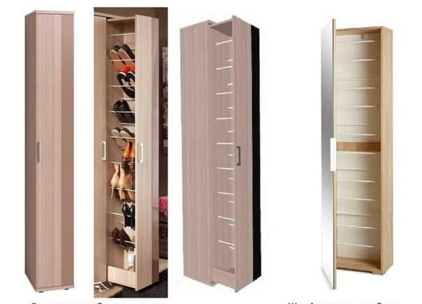 Узкие обувницы в прихожую (83 фото): выбираем галошницы для обуви глубиной 20 см и других размеров, металлические и белые конструкции