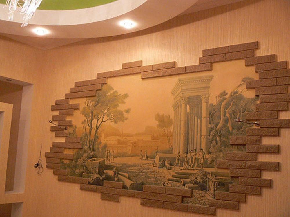 Декор стен своими руками — оригинальные идеи для украшения интерьера
