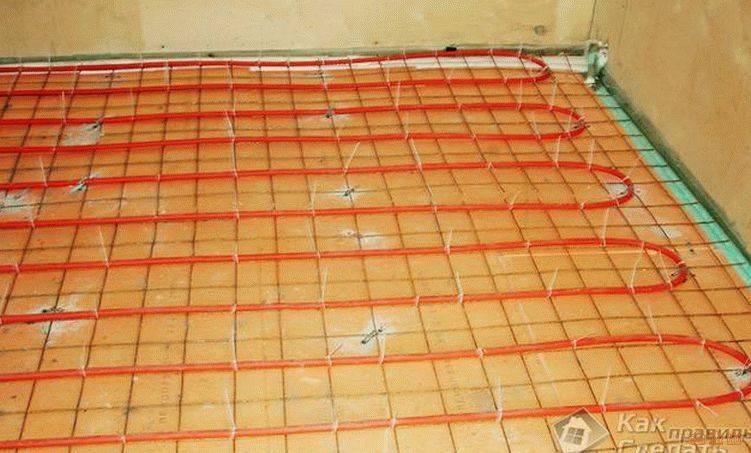 «пеноплекс» под теплый водяной пол, преимущества материала, способы и технология его укладки