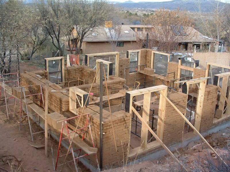 Дом из самана. особенности и технология строительства. как построить дом из самана. дом из самана - теплый, экологически чистый и крепкий. его можно построить и своими руками.