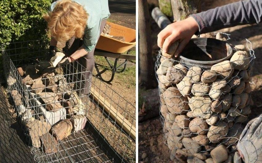 Габионы своими руками: пошаговая инструкция, из сетки габионы своими руками: пошаговая инструкция, из сетки