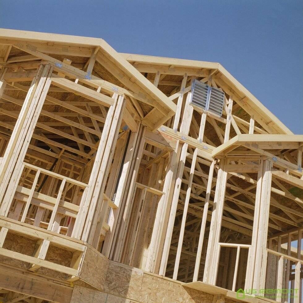 Канадская технология строительства каркасных домов своими руками: немецкие особенности