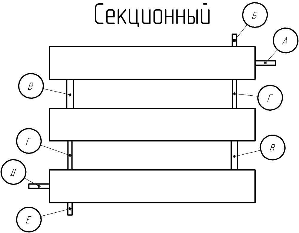 Регистры отопления: типы, виды, расчет, изготовление своими руками