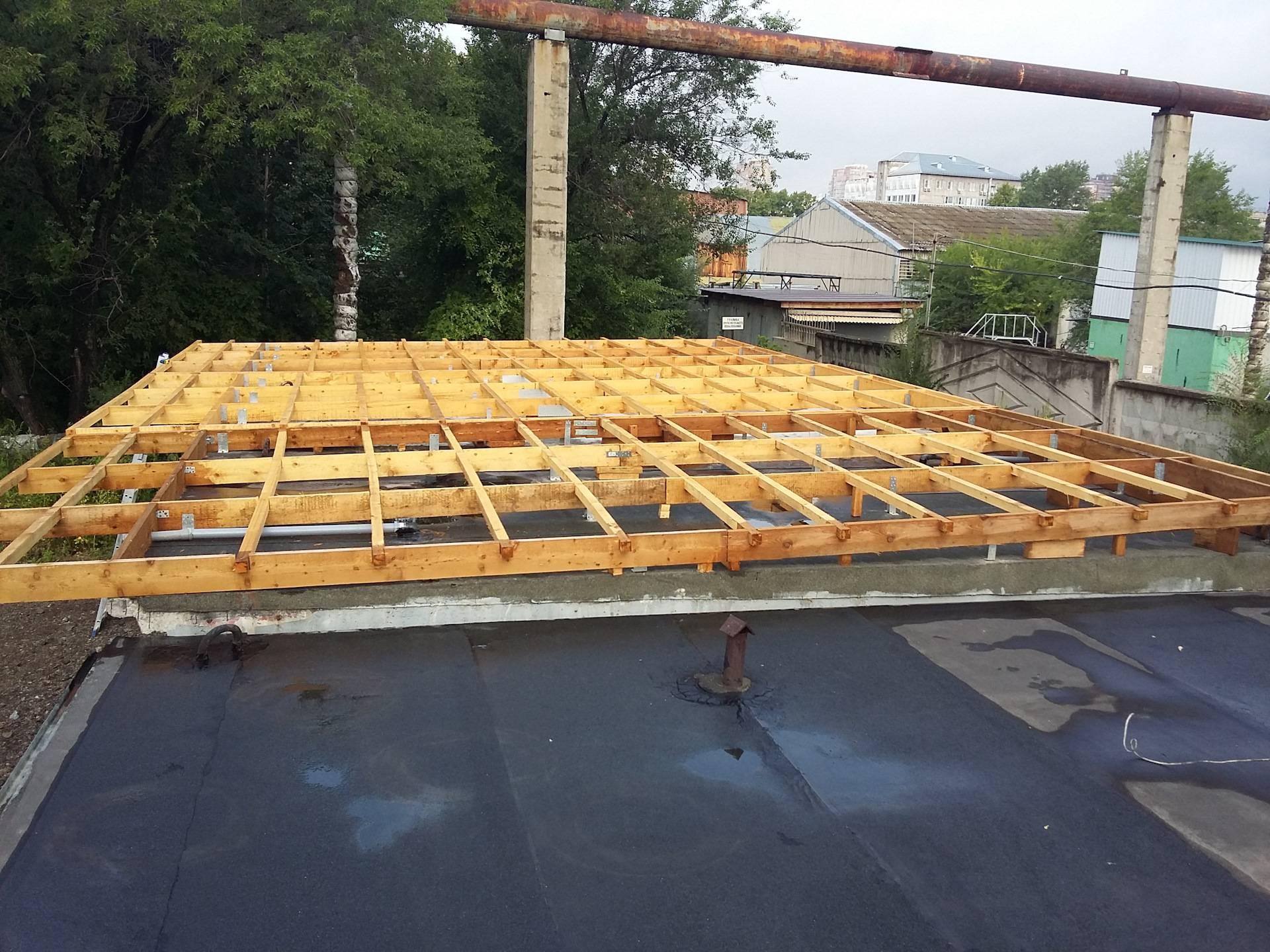 Как выполняется гидроизоляция крыши гаража своими руками?