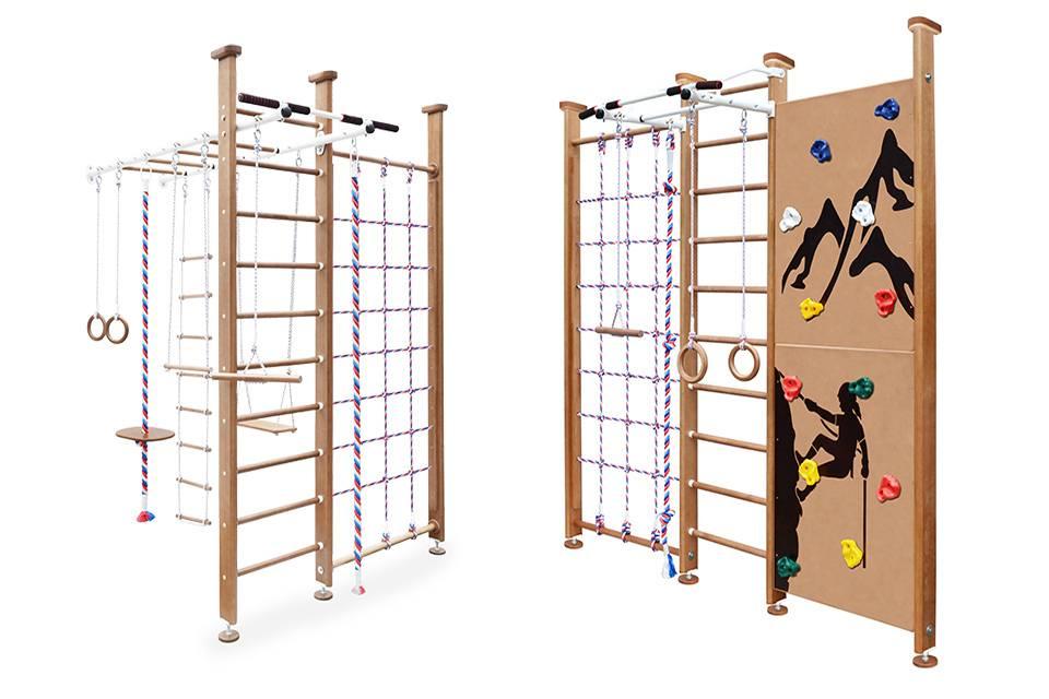 Спортивный комплекс для детей для дома: выбор и установка. детские спортивные уголки в квартиру :: syl.ru