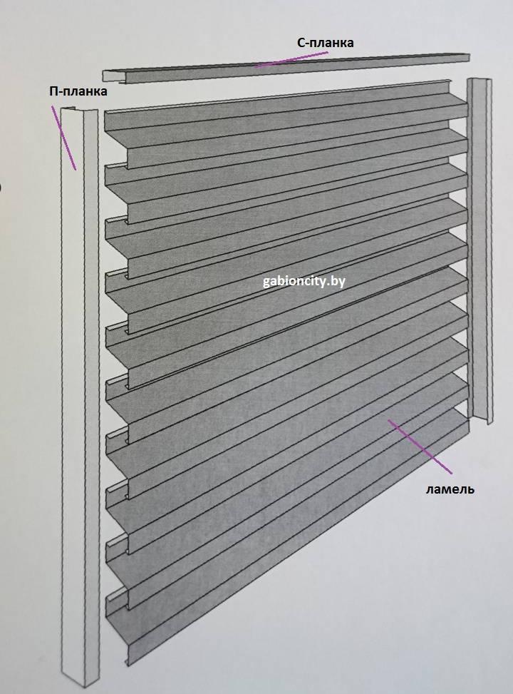 Забор жалюзи своими руками: фото, жалюзийный из ламелей, горизонтальный штакетник, вертикальные ограждения из дпк на видео