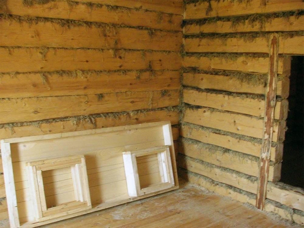 Отделка деревянного дома внутри в современном стиле