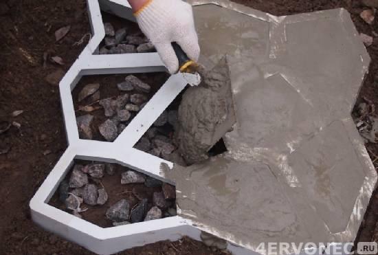 Изготовление тротуарной плитки своими руками (пошаговая инструкция)
