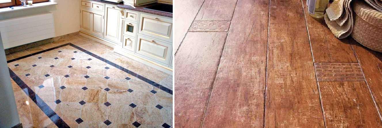 Какое покрытие лучше для кухни: плитка, ламинат, линолеум, дерево?