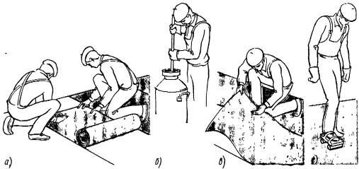 Укладка линолеума своими руками в домашних условиях: пошаговая инструкция с фото и видео