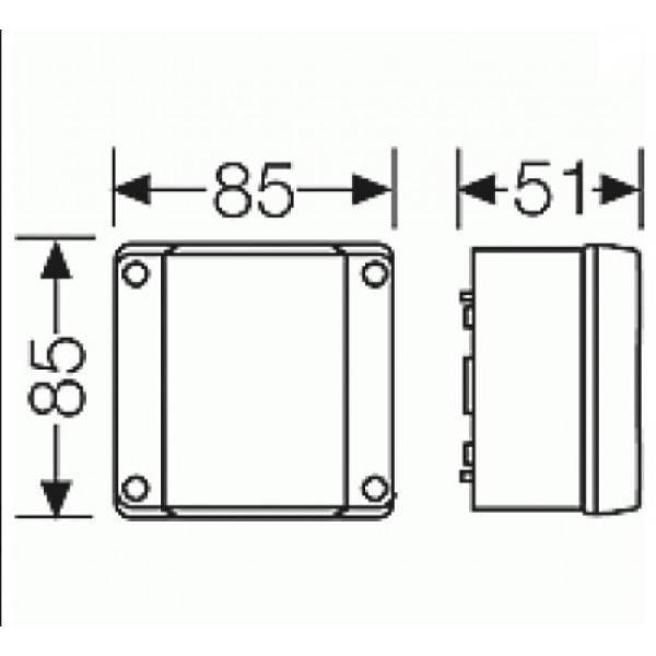 Зачем нужна распределительная коробка и где ее ставить в доме: как устанавливать для скрытой и открытой проводки, отличие разветвительной и ответвительной