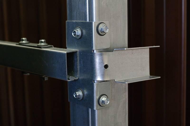 Как сделать забор из профлиста своими руками без сварки: видео, фото