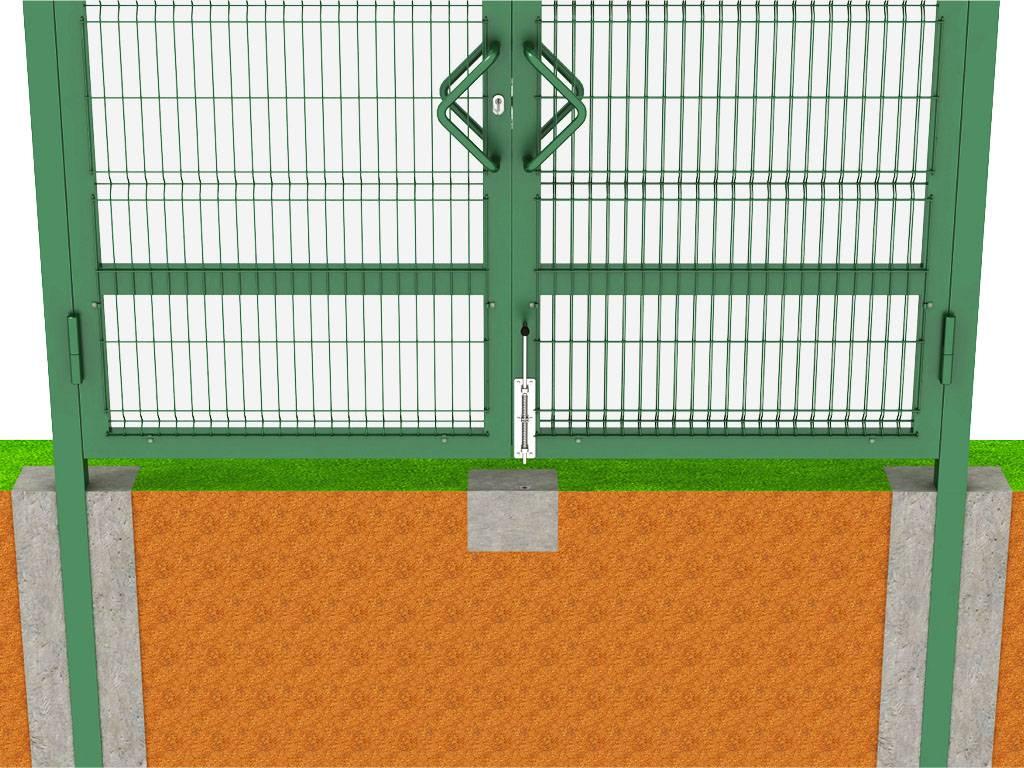 Фундамент под распашные ворота. как качественно сделать самостоятельно?