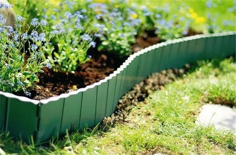 Бордюрная лента для грядок — красивое обрамление садовых элементов