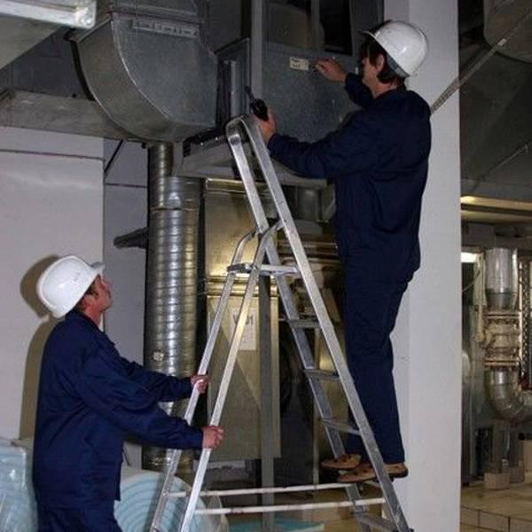 Проверка и диагностика вентиляционных систем