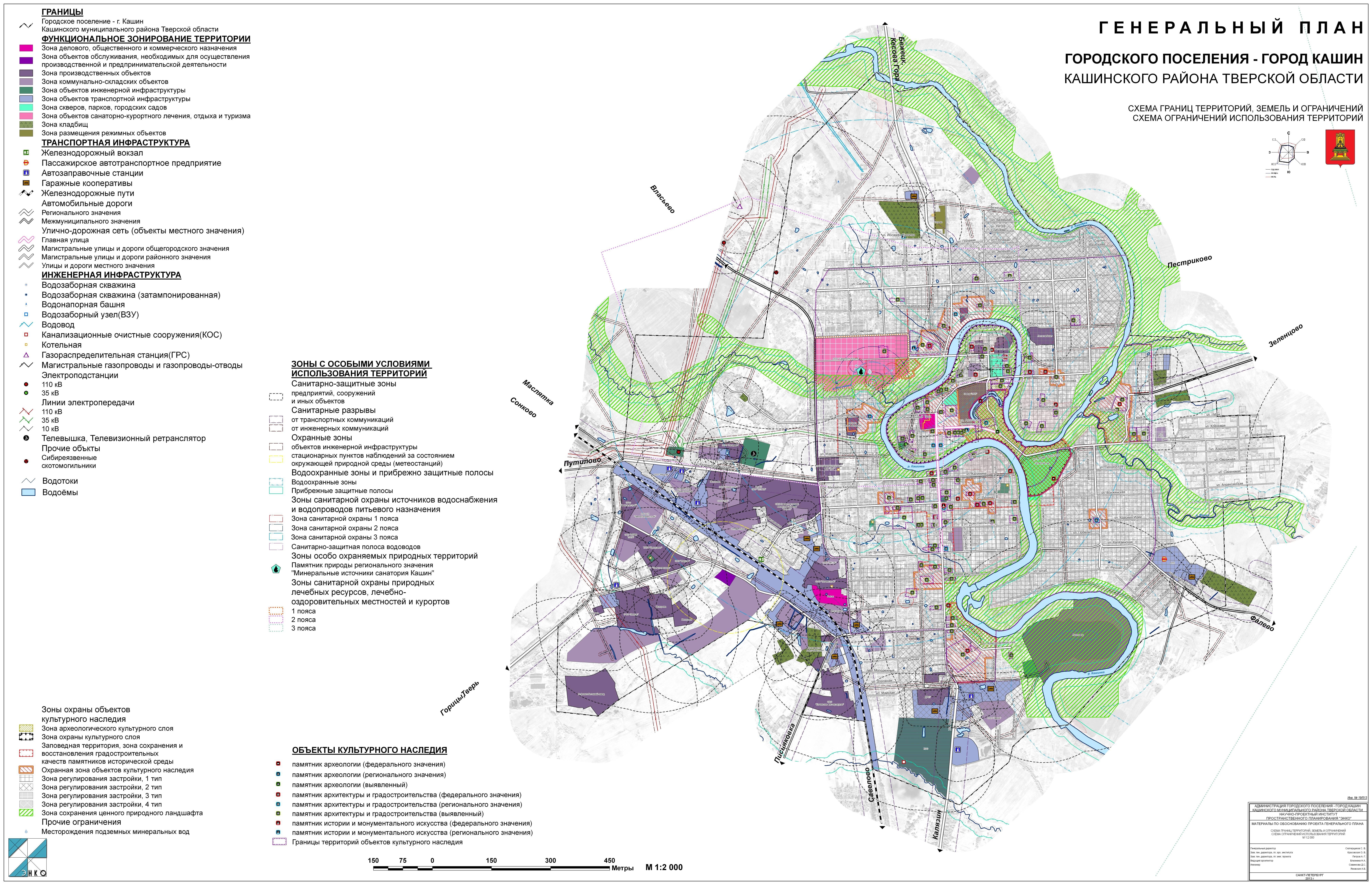 Градостроительство  — охранные зоны наружных инженерных сетей