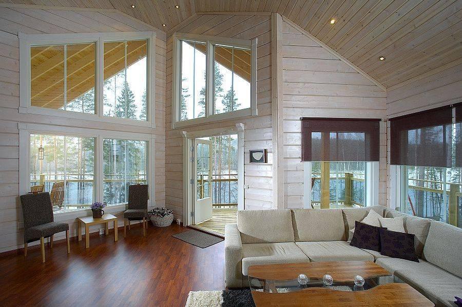 Внутренняя отделка деревянного дома: технические особенности - swoofe.ru