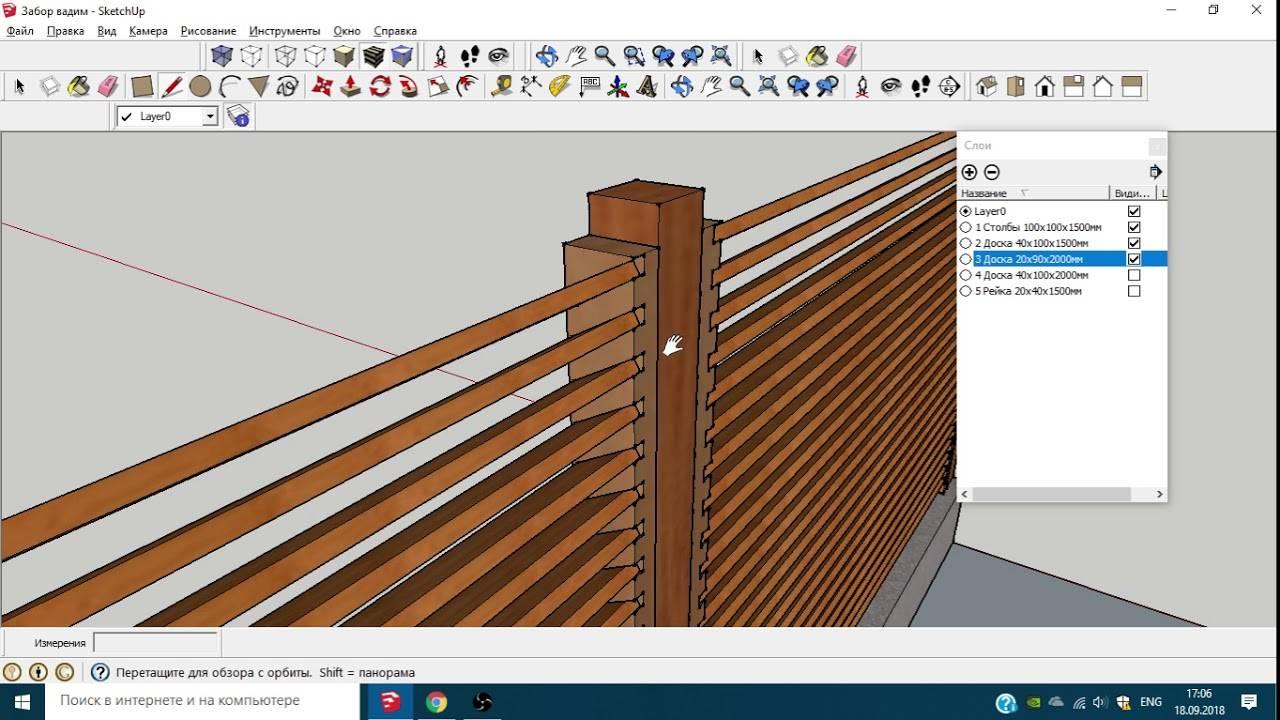 Забор жалюзи из дерева – строительство, этапы работ, способы крепления досок