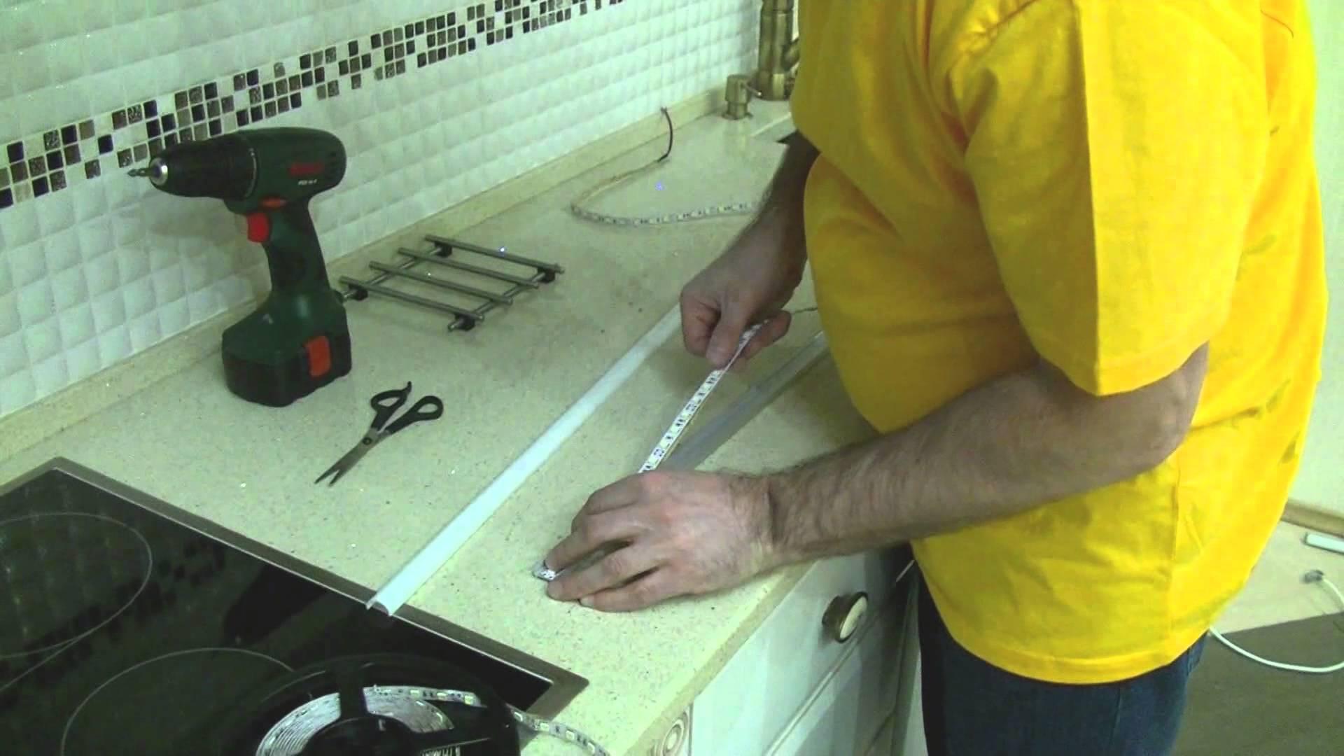 Как установить светодиодную ленту на потолок — как крепить к потолку, монтаж светодиодной ленты, как закрепить, прикрепить, на что крепить