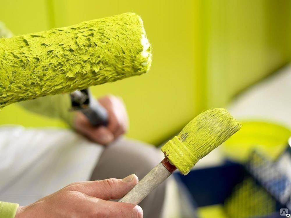 Покраска стен водоэмульсионной краской - подготовка и техника нанесения
