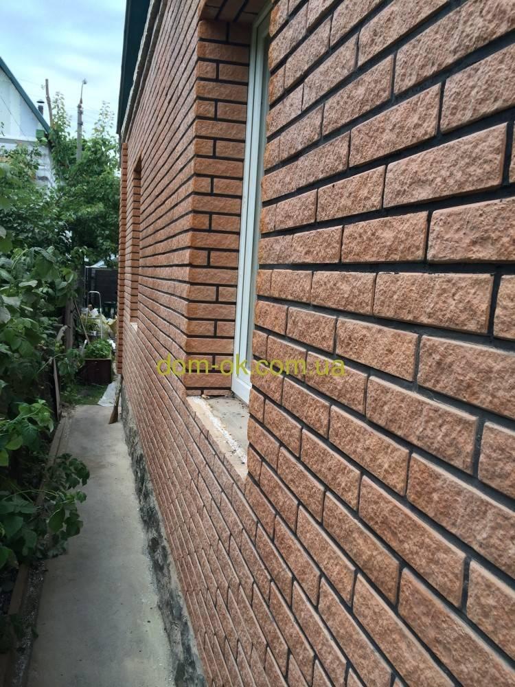 Фасадные панели: фото, видео, отделка дома панелями под кирпич
