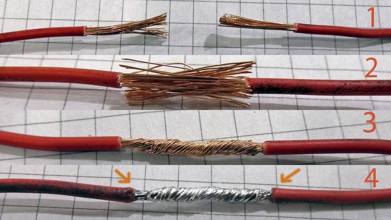 Правильная скрутка: особенности и виды соединения электрических проводов