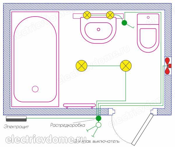 Разводка труб в ванной и туалете: прокладка, как проложить своими руками, как сделать, варианты для совмещённого санузла, как правильно развести