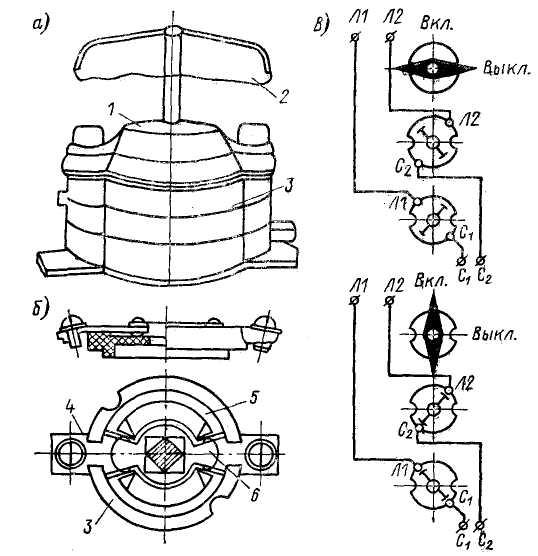 Что такое пакетный выключатель: устройство, схема подключения и особенности применения (115 фото + видео)