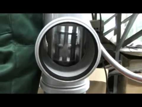 Как самостоятельно снять заглушку с системы канализации?