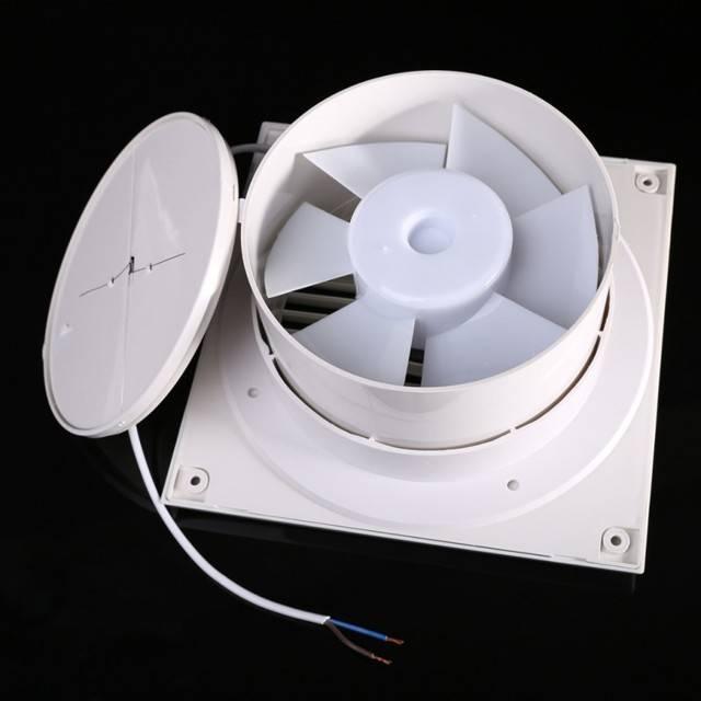 Вентилятор для ванной бесшумный с обратным клапаном — читайте во всех подробностях