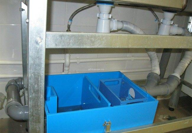 Жироуловитель в канализации фото | все о септиках