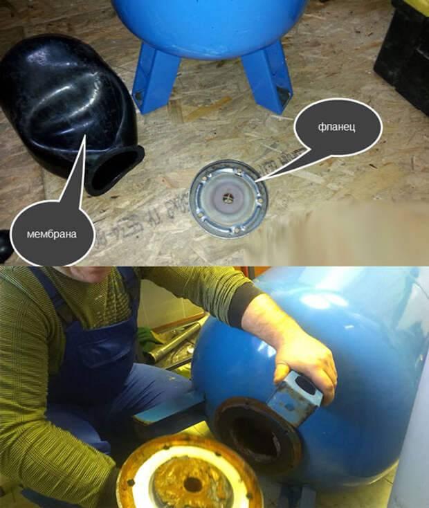Ремонт гидроаккумулятора своими руками: пошаговые инструкции