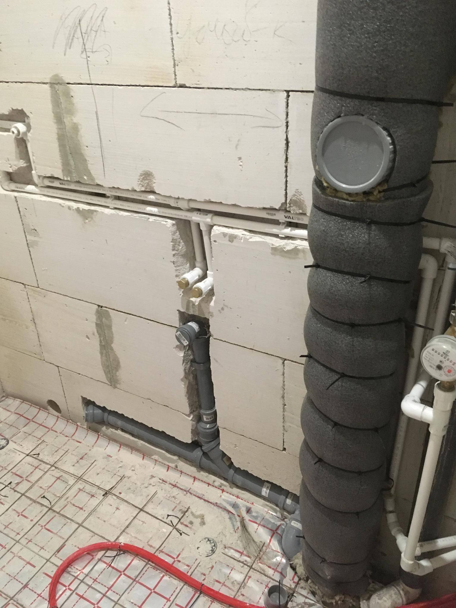 Шумоизоляция канализационного стояка в квартире своими руками - строительство и ремонт