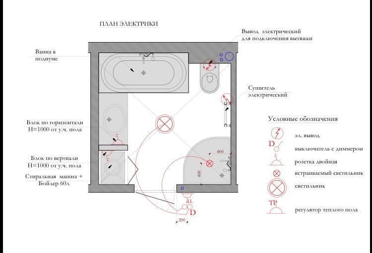 Разводка труб в ванной комнате и туалете своими руками: примеры схем