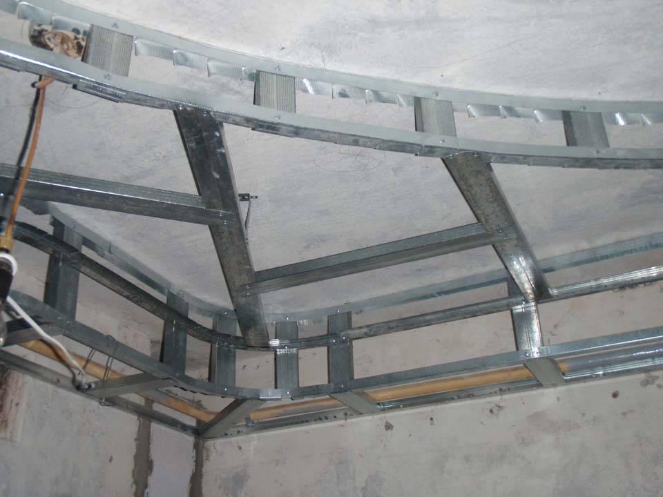 Двухуровневый потолок из гипсокартона с подсветкой - монтаж своими рукками, виды конструкций и их особенности