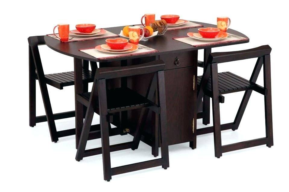 Раскладной стол в интерьере кухни (фото)
