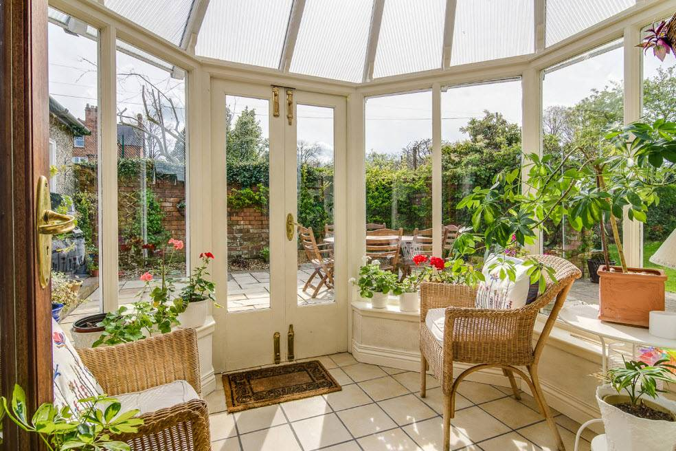 Зимний сад в частном доме своими руками: фото и проекты, схема изготовления