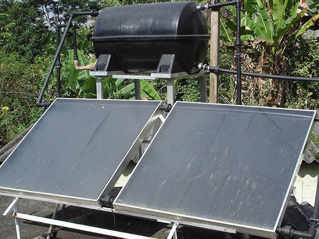 Воздушные солнечные коллекторы своими руками - лучшее отопление